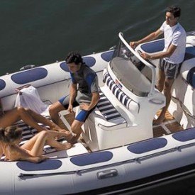 Rent a Rigid Inflatable Boat (Half Day )